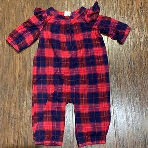 Baby gap flannel onesie